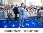giffoni valle piana  sa  italy  ... | Shutterstock . vector #484684582