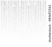 black and white. algorithm...   Shutterstock . vector #484692562