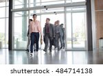 group of business people... | Shutterstock . vector #484714138