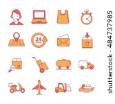 big  linear icons set of...