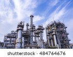 modern manufacturing industry | Shutterstock . vector #484764676