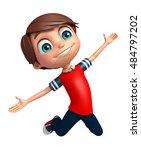 3d Rendered Illustration Of Kid ...