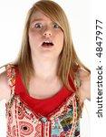 beautiful 14 year old teen... | Shutterstock . vector #4847977