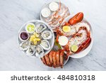 Fresh Seafood Platter With...