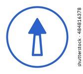 arrow  icon. vector.