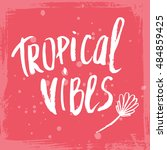 conceptual hand drawn phrase... | Shutterstock .eps vector #484859425