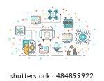 line icon design illustration... | Shutterstock .eps vector #484899922