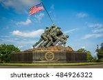 the us marine corps war... | Shutterstock . vector #484926322