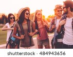 in search of adventures. group... | Shutterstock . vector #484943656