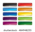 a set of multi color vector... | Shutterstock .eps vector #484948255