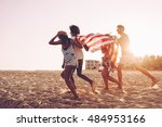 freedom is in their veins.... | Shutterstock . vector #484953166