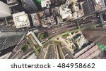 top view aerial photo from... | Shutterstock . vector #484958662