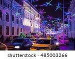 moscow   december 31  2015 ... | Shutterstock . vector #485003266