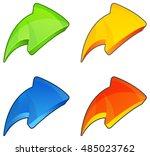 arrow icon | Shutterstock .eps vector #485023762