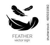 Feather  Vector  Silhouette ...