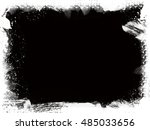 grunge background. grunge frame.... | Shutterstock . vector #485033656