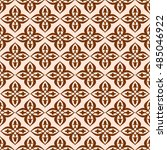 vector seamless pattern in... | Shutterstock .eps vector #485046922