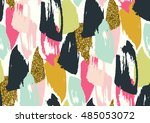 vector seamless pattern with...   Shutterstock .eps vector #485053072