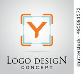 y letter logo in the square...