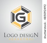 g letter in the hexagonal logo. ...