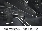 empty dark abstract concrete... | Shutterstock . vector #485115322