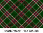 Green Red Diagonal Check Fabric ...
