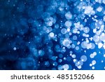 blue bokeh background | Shutterstock . vector #485152066