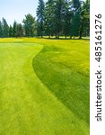 golf course  in a sunny day.... | Shutterstock . vector #485161276