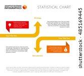 increasing and decreasing... | Shutterstock .eps vector #485169445