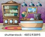 cartoon vector illustration...   Shutterstock .eps vector #485193895
