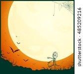 vector illustration of a... | Shutterstock .eps vector #485209216