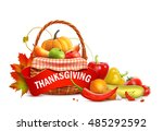 thanksgiving 1 | Shutterstock .eps vector #485292592