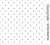 seamless polka dot pattern.... | Shutterstock .eps vector #485292952