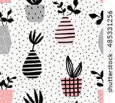 seamless repeating pattern with ... | Shutterstock .eps vector #485331256