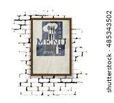 template for restaurant menu in ...   Shutterstock .eps vector #485343502
