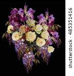 Floral Background. Floristic...