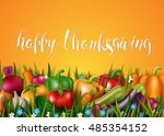 template card with photo... | Shutterstock .eps vector #485354152