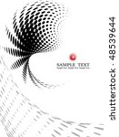 background composition  web... | Shutterstock .eps vector #48539644