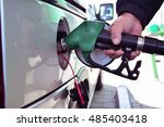 local petrol station in the... | Shutterstock . vector #485403418