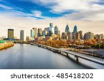 panoramic picture of... | Shutterstock . vector #485418202