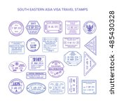 vector south eastern asia... | Shutterstock .eps vector #485430328