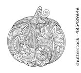 vector monochrome decorative
