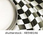 vector checkered background | Shutterstock .eps vector #48548146