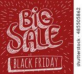 big sale comic book vector...   Shutterstock .eps vector #485505862