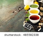 Tea Concept. Different Kinds O...