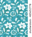 abstract seamless pattern with... | Shutterstock .eps vector #485652778