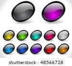 web buttons   Shutterstock .eps vector #48566728