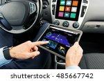 transport  business trip ... | Shutterstock . vector #485667742