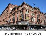 montreal canada 09 16 2016  the ...   Shutterstock . vector #485719705