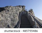 Rocky Stairs On Moro Rock In...